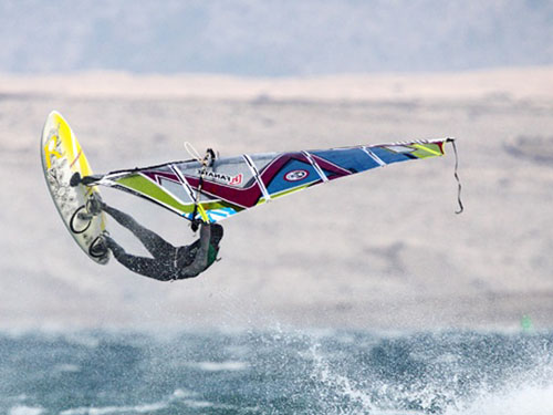 Viganj is the most popular windsurfing destination in Croatia